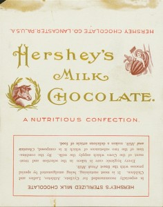 Hershey's Wrappers through the Years