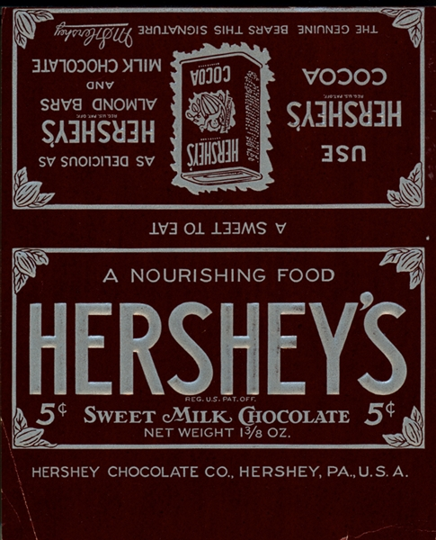 hershey u2019s wrappers through the years