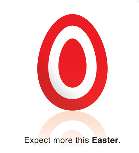 Target Easter Ad