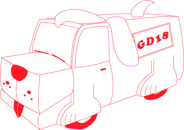Presenting the GD18 Wagmobile!
